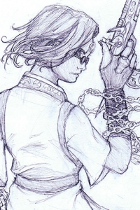 Kalara First Sketch by Angela R. Sasser