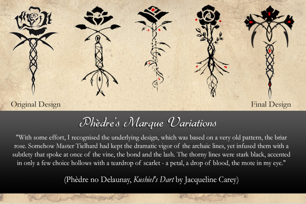 Designs for Phedre's Marque