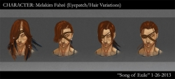 Melakim Head Variations