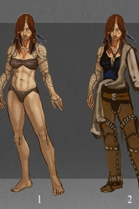 Melakim Costume Variations