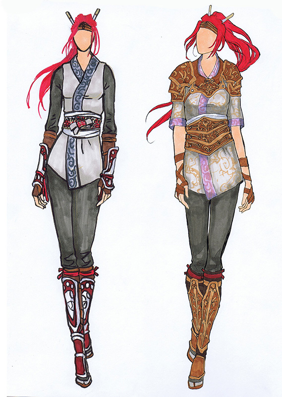 Nariko Redesign Fashion Plates